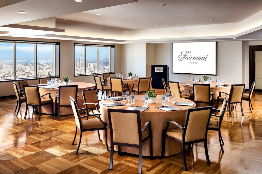 Fairmont Dubai Business Meeting
