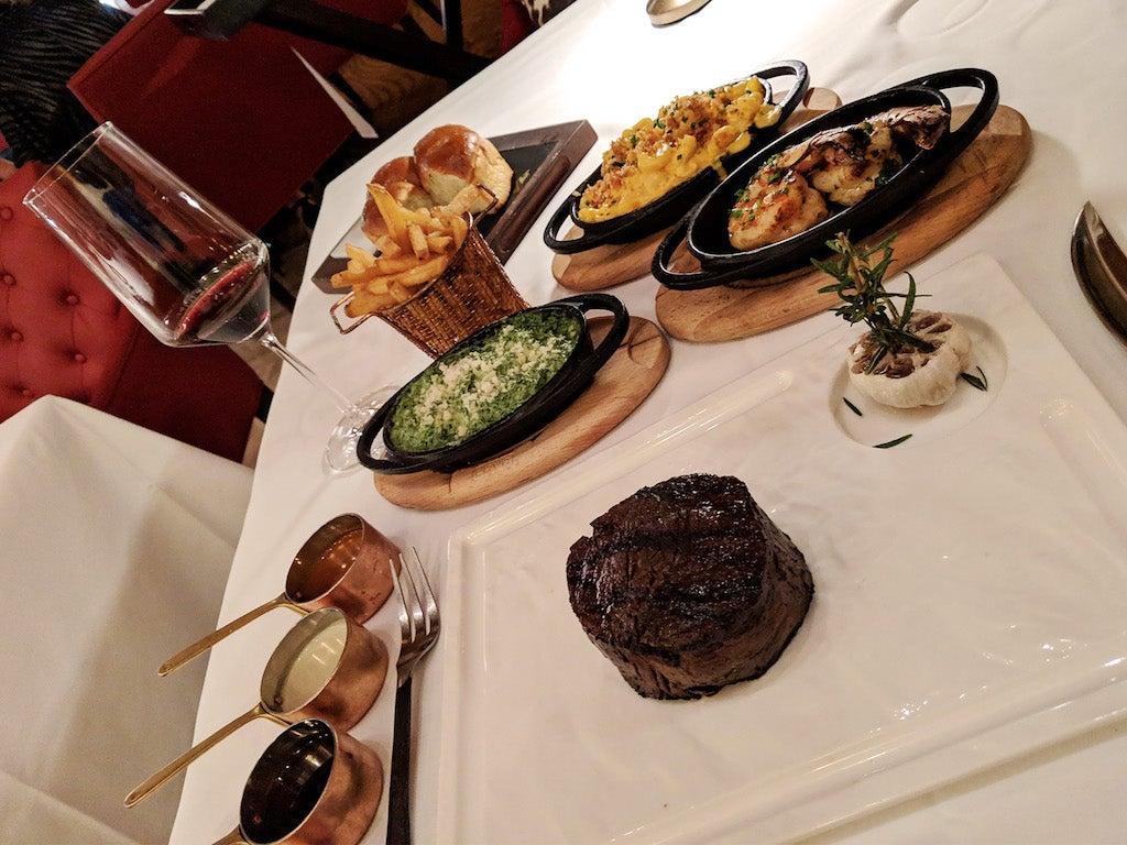 Seafire Restaurant Steakhouse Dubai