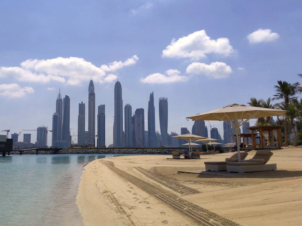 One&Only The Palm Dubai Skyline
