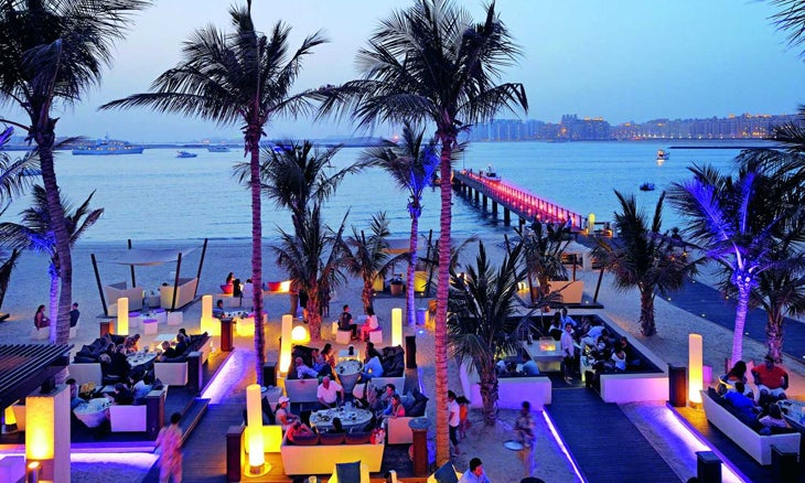 Jetty Lounge at the One&Only Royal Mirage Dubai
