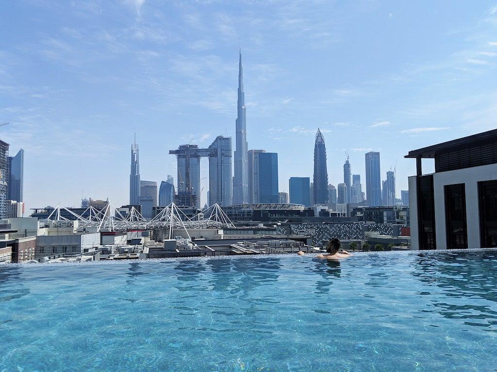 La Ville Hotel & Suites City Walk Dubai Pool