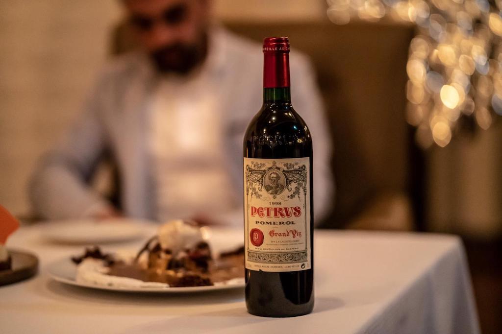 Fairmont Dubai Wine