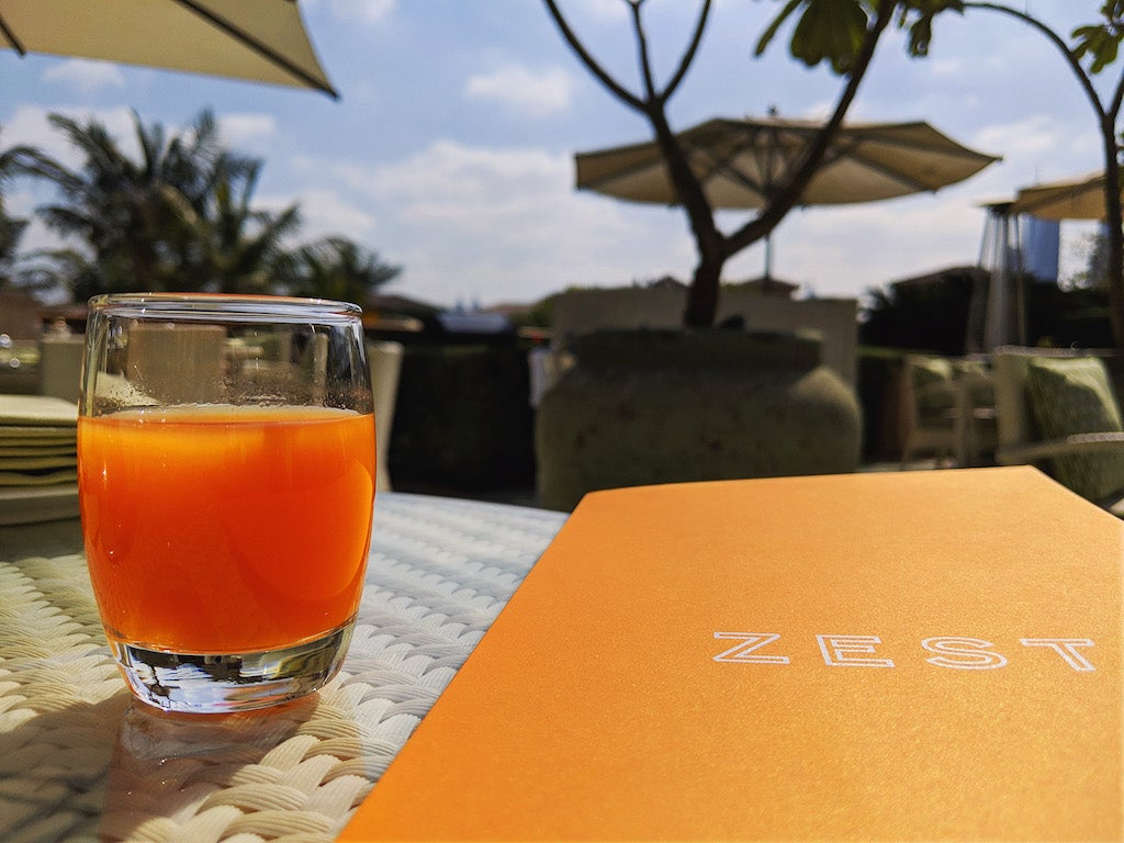 One&Only The Palm Dubai Zest