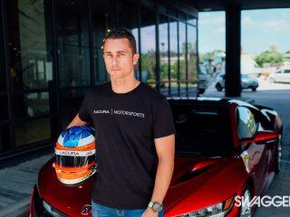 Acura NSX Dane Cameron IMSA Racing Champion - SWAGGER