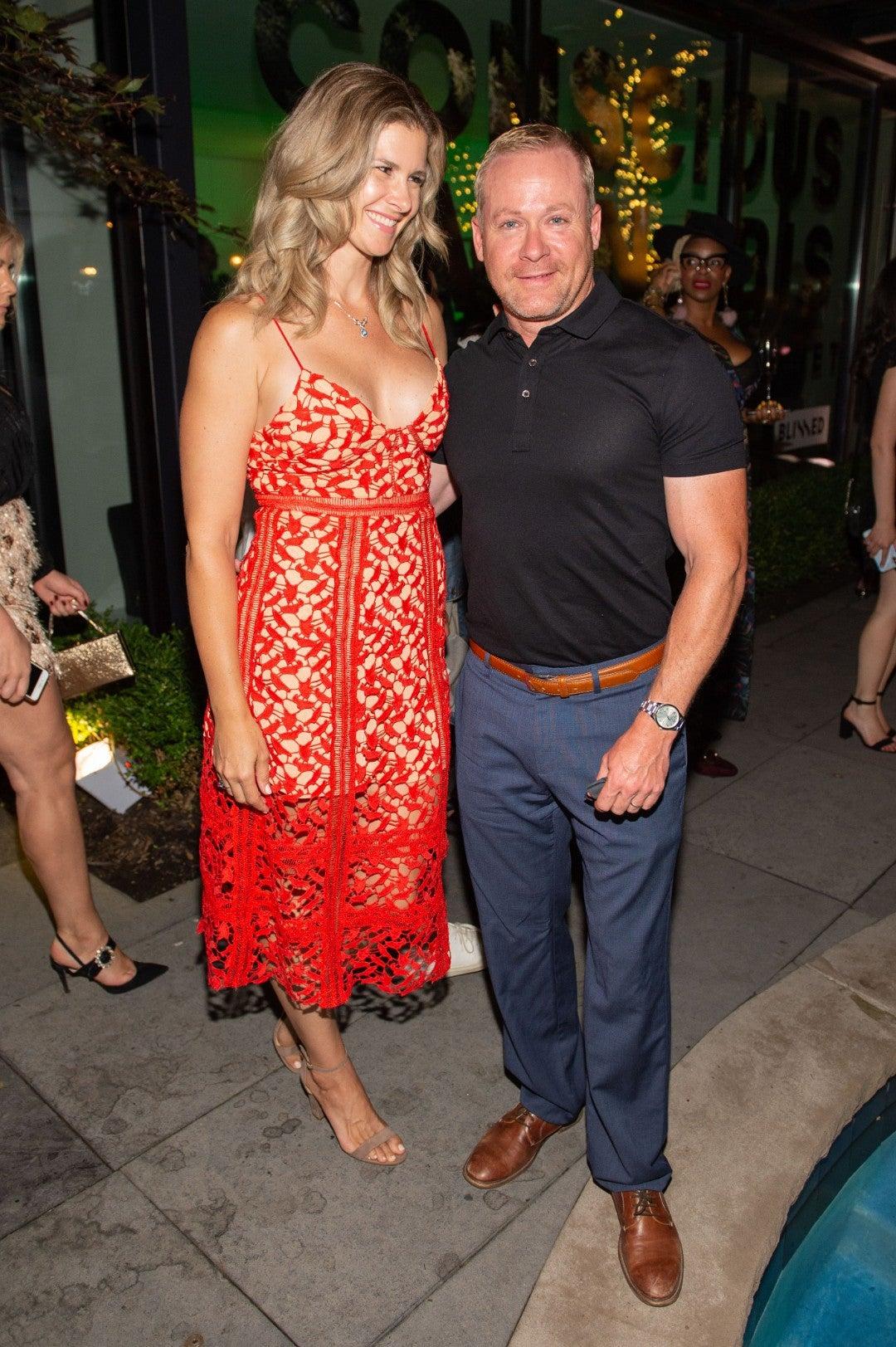 Jacqueline Wilson and Matt Wilson