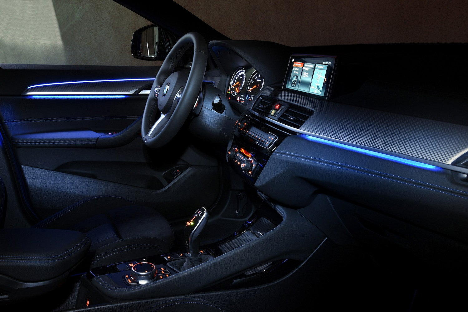 2020 BMW X2 M35i Interior Night view
