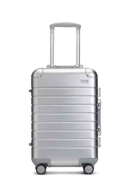 Away Cary-On Silver Aluminum Luggage