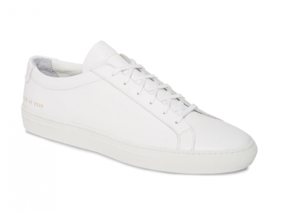 Common Projects White Original Achilles Sneaker