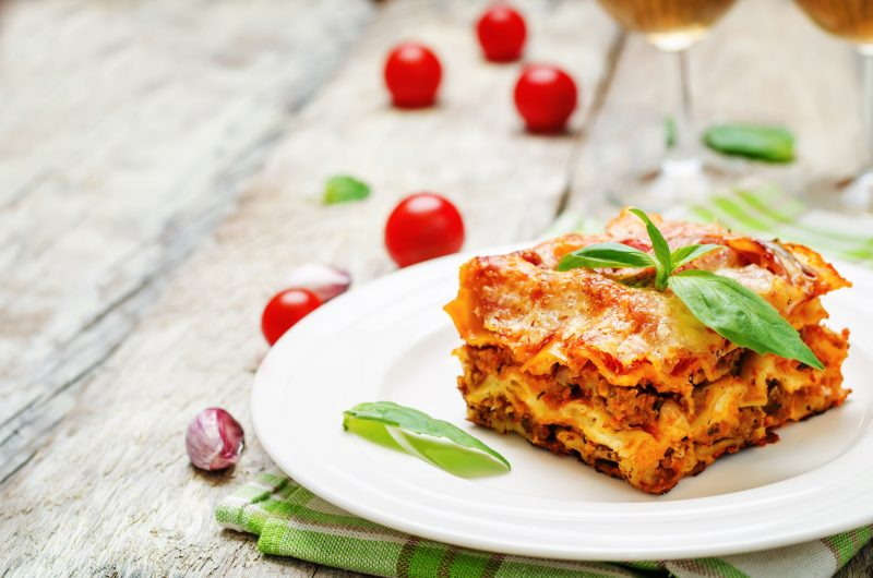 Lasagna Three Cheese Recipe