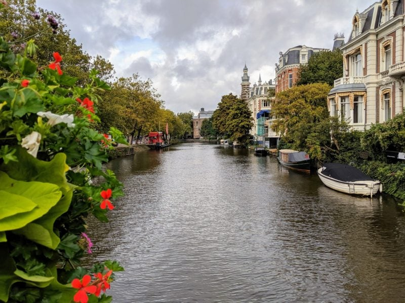 The Amstel River Amsterdam