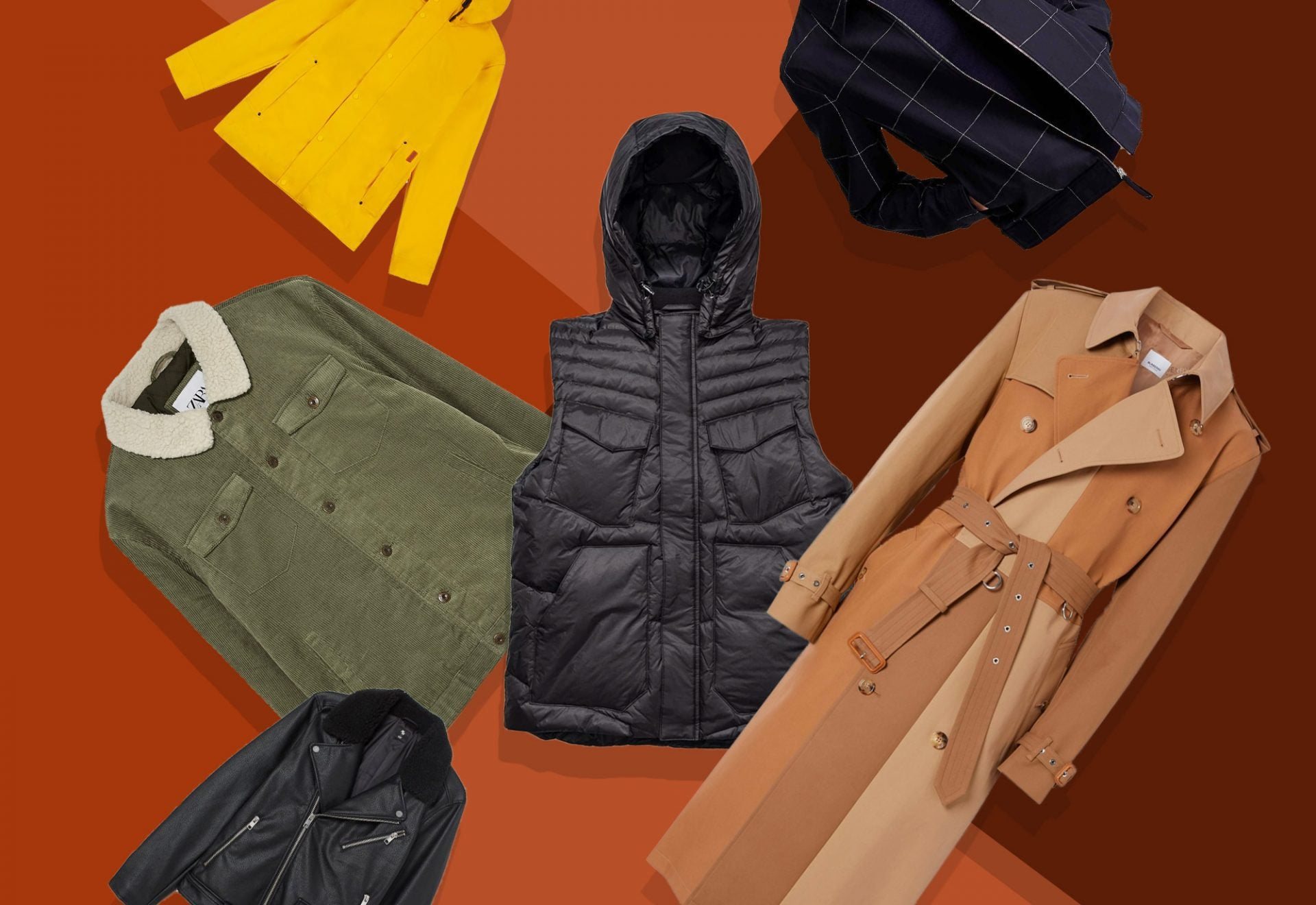 Fall Outwear Coats Jackets for Men | SWAGGER