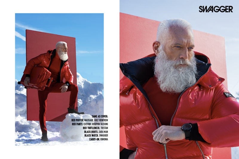Fashion Santa Paul Mason Swagger