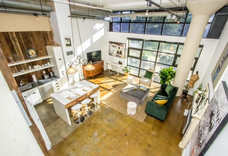 Loft space for events