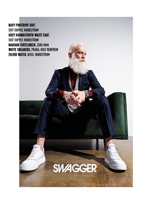 Paul Mason Fashion Santa Swagger Cover Feature
