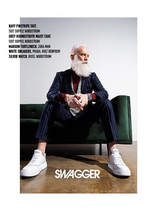 Paul Mason Fashion Santa Swagger Cover Feature
