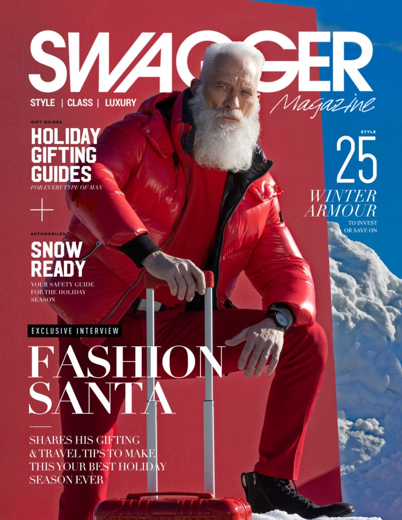 Swagger Magazine Cover Fashion Santa Paul Mason
