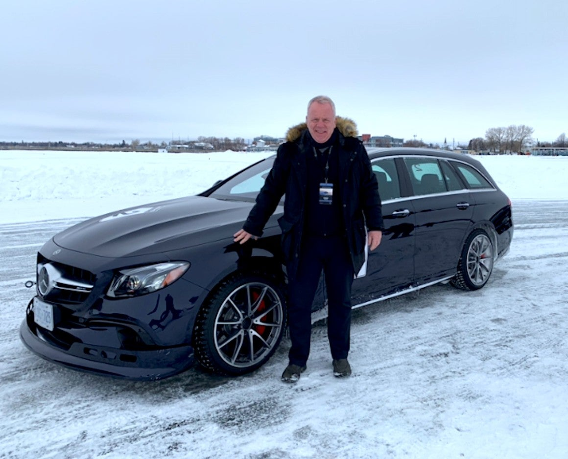 Mercedes AMG Winter Sporting Driving Academy Bob Cowan