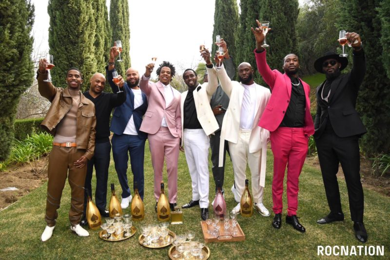 2020 Roc Nation Pre Grammys Brunch Ace of Spades