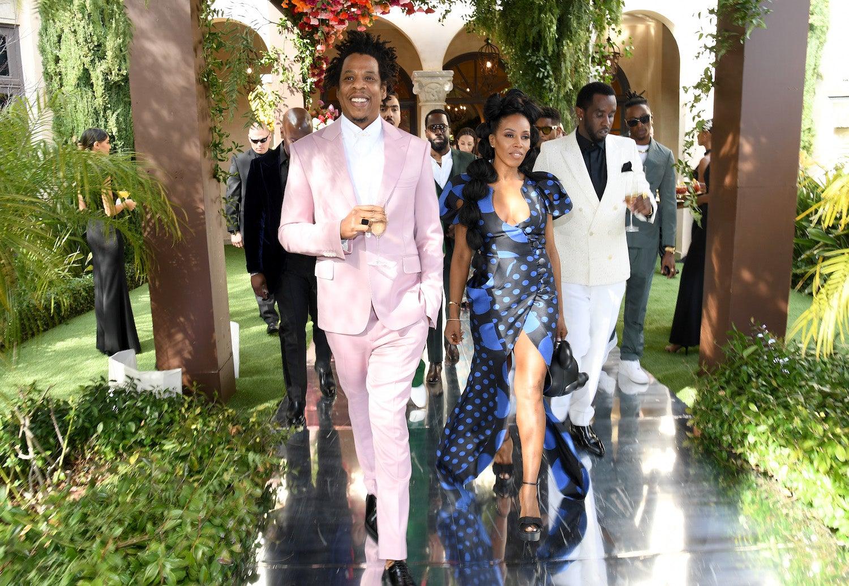 Jay-Z Roc-Nation 2020 Pre-Grammys Brunch
