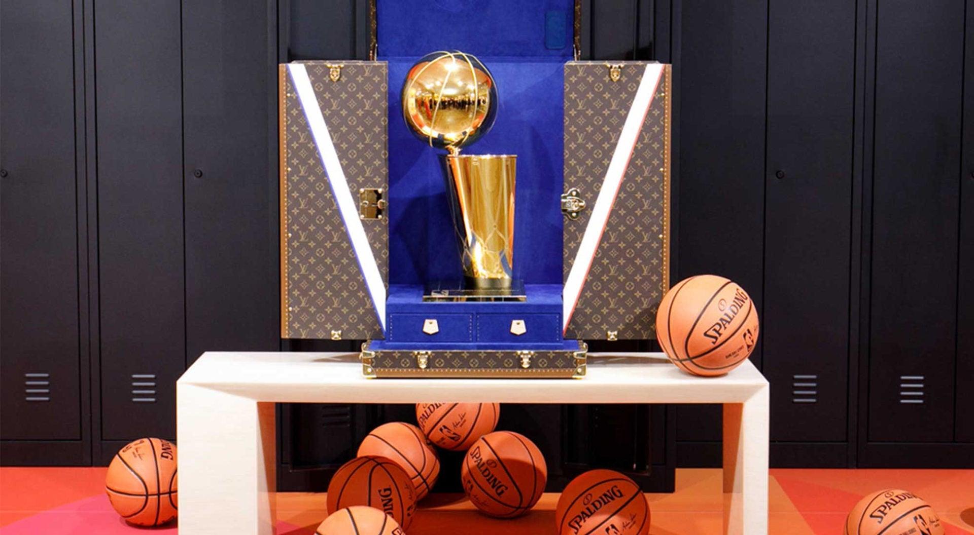 NBA Louis Vuitton Partnership