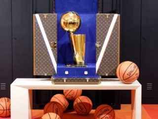 NBA Louis Vuitton Partnership