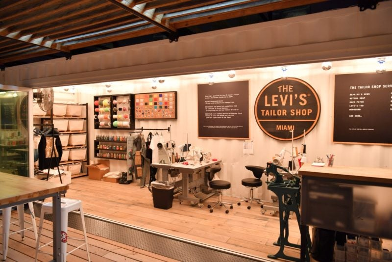 Levi's Tailor Shops in Miami Levis