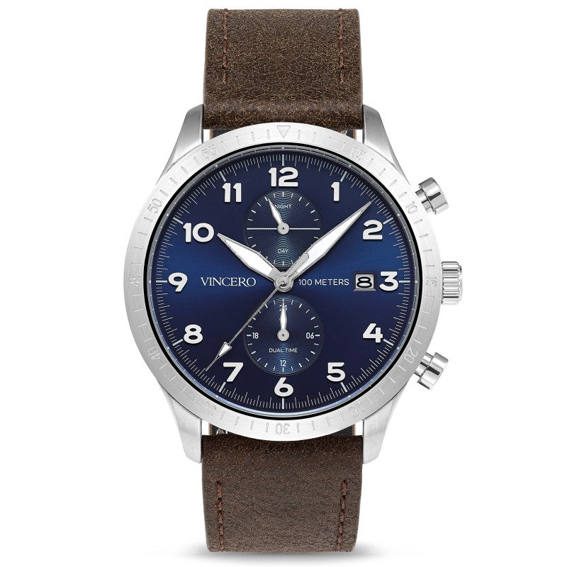 Watches: Altitude Silver and Navy
