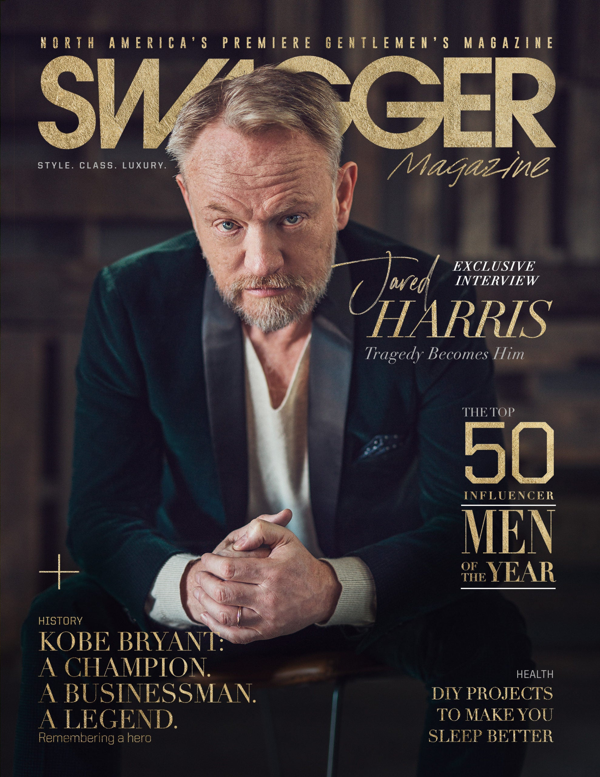 Jared Harris for SWAGGER