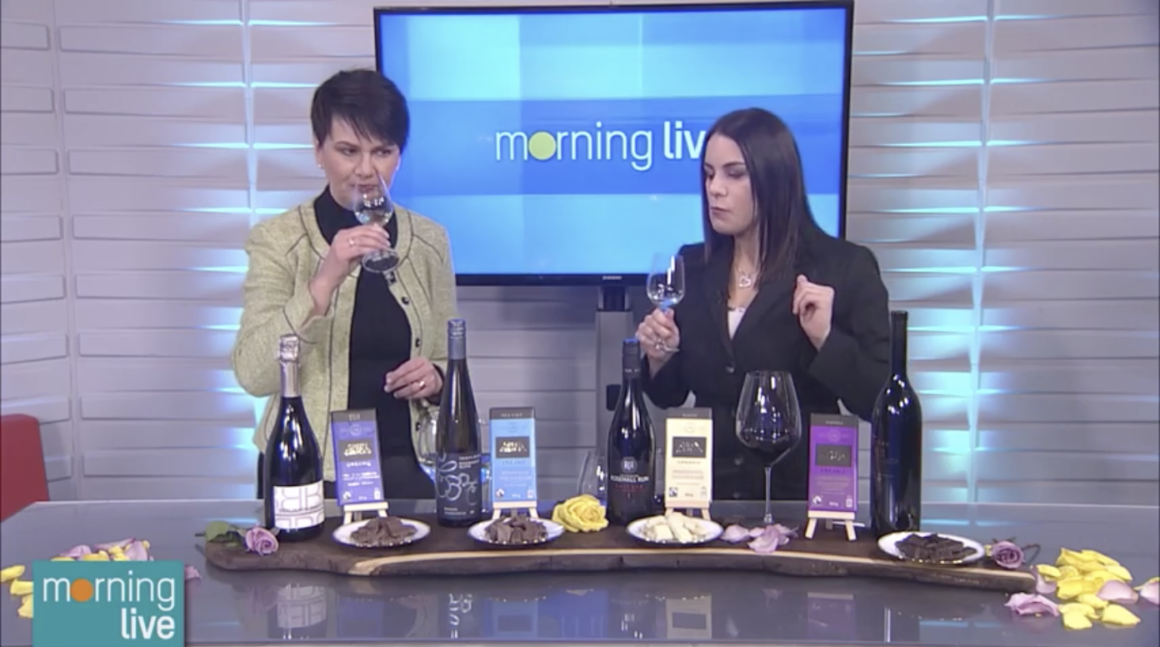 Angela Aiello Super Wine Girl CHCH TV