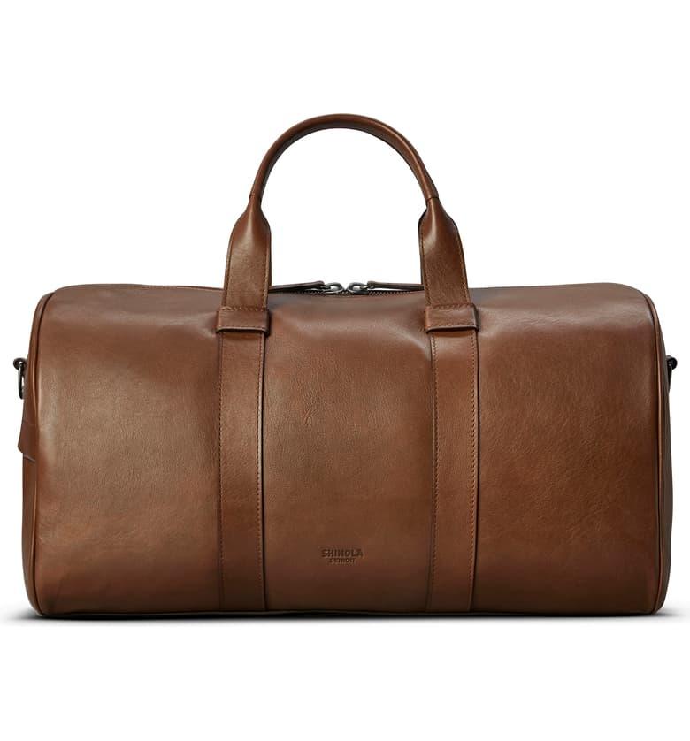 Valentine's Day: Shinola Duffle Bag