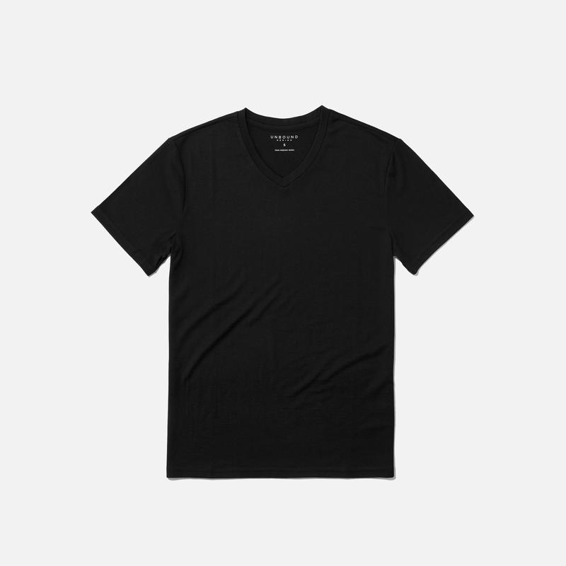 Steven's Branco favorite t-shirts - unbound merino wool