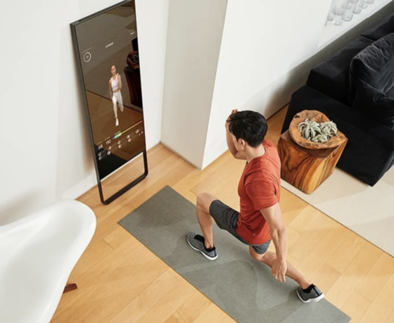 Mirror Fitness Nearly Invisible Workout
