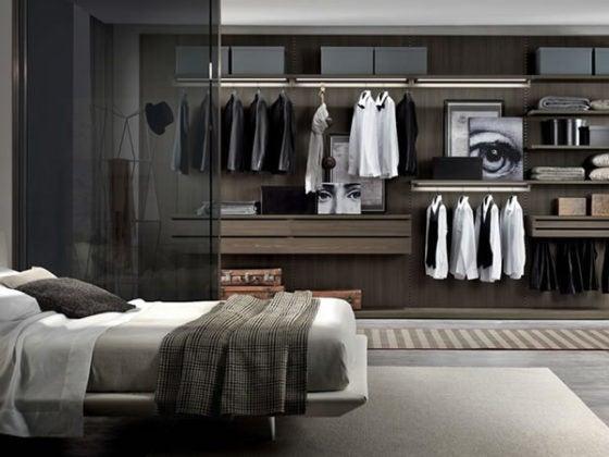 wardrobe spring cleaning closet