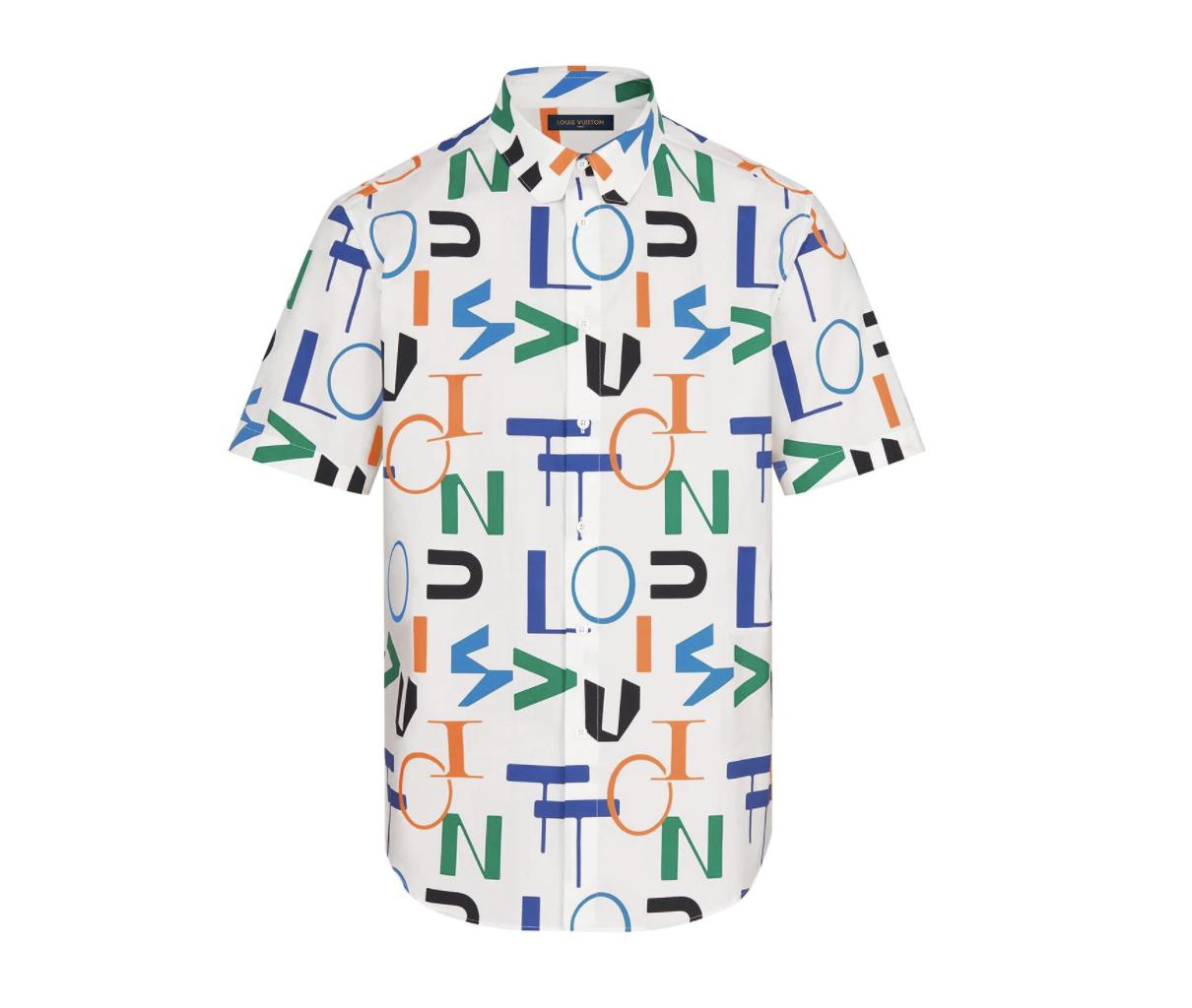 Louis Vuitton Electric Short Sleeve Shirt