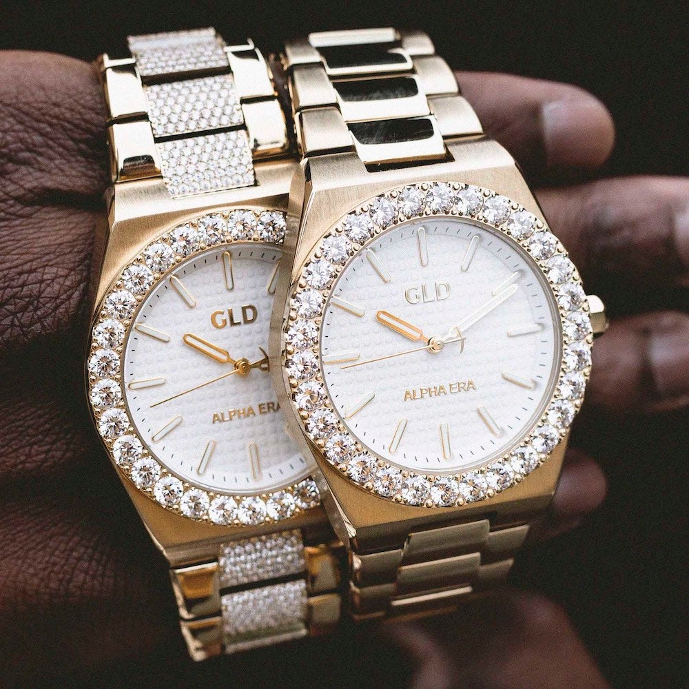 GLD iced watch