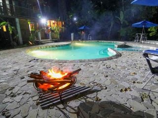 Pool-at-night-with-fire